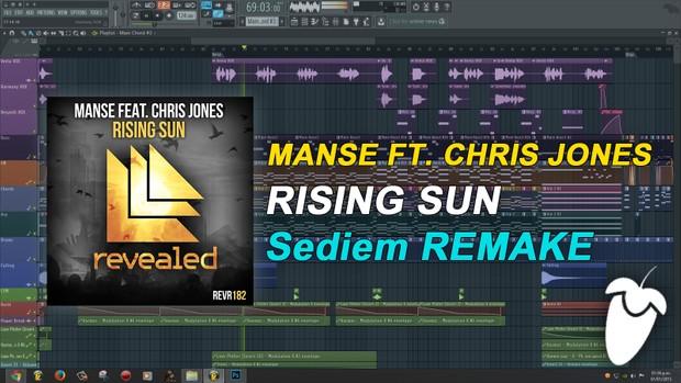 Manse Feat. Chris Jones - Rising Sun (Remake) [FLP Family]
