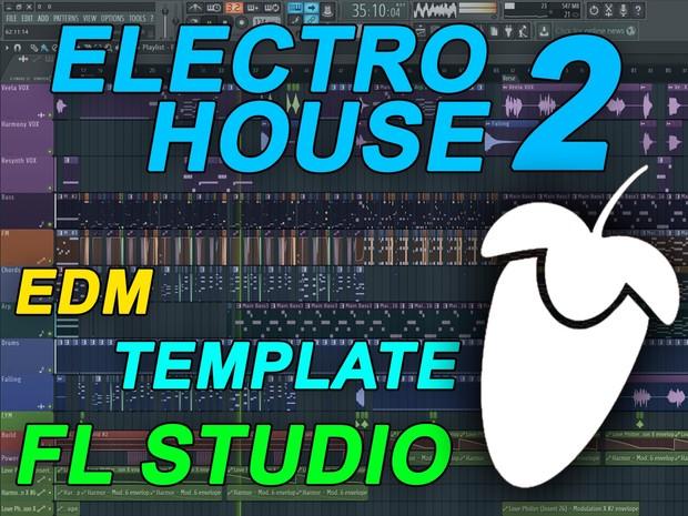 FL Studio - EDM Electro House Template 2