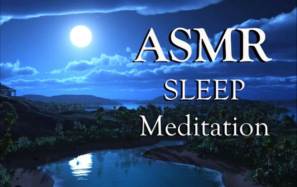 ASMR Sleep Meditation: SLEEP Guided Meditation