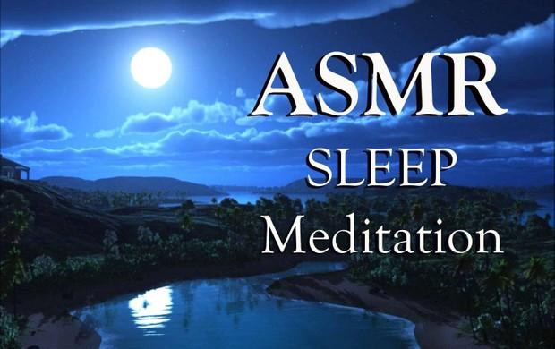 ASMR Sleep Meditation: SLEEP Guided Meditation