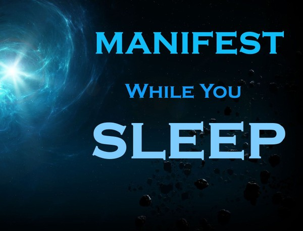 MANIFEST While You SLEEP Meditation - Listen to Just Before BED