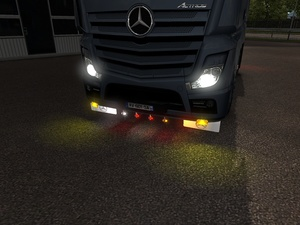Low Bar Mercedes Actros MP4