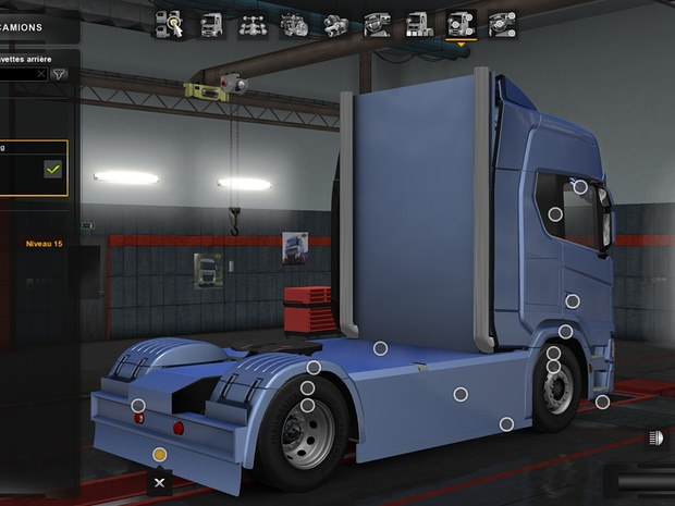 Accessory chassis Scania 2016