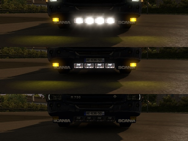 Lobar Scania R 2009 and Streamline by SCS and RJL