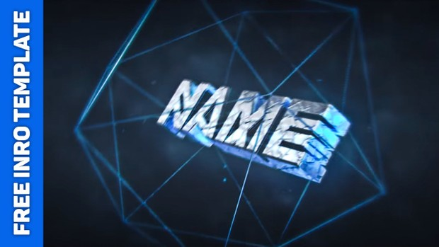 FREE INTRO TEMPLATE #3 | AE+C4D - FreeIntroTemplate