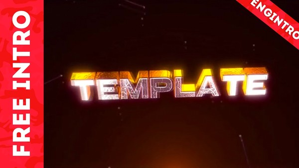 Free 3D Intro Template #8 | Cinema 4D/After Effects