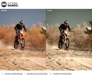 Sando 3D LUT Color correction grading file by LUT Ninja