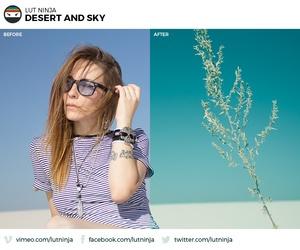 Desert and Sky 3D LUT Color correction grading file