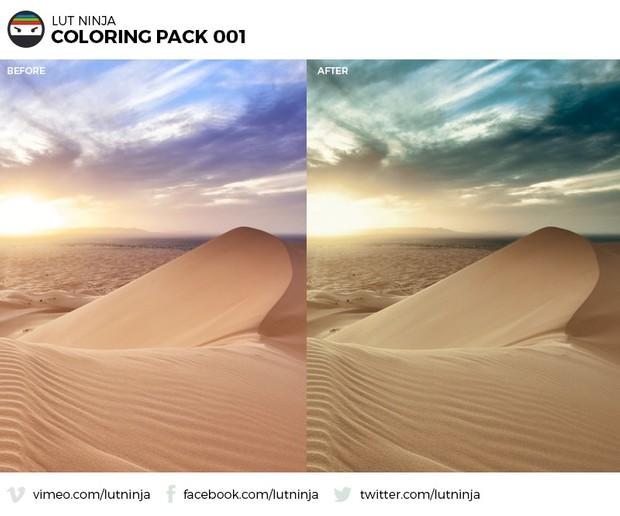 Creative Bundle  3D LUT Color correction grading files PACK by LUT Ninja