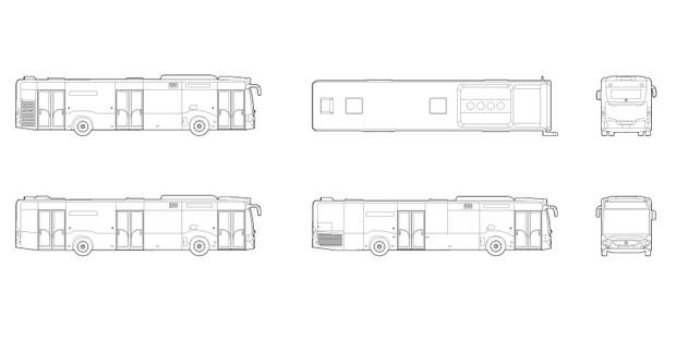 Citaro Bus, Mercedes Benz