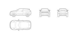 Range rover evoque (dwg file)