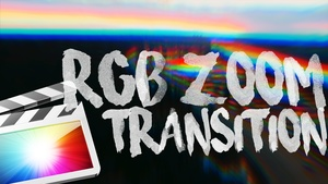 RGB Smooth Zoom Transition for Final Cut Pro X - Free Download