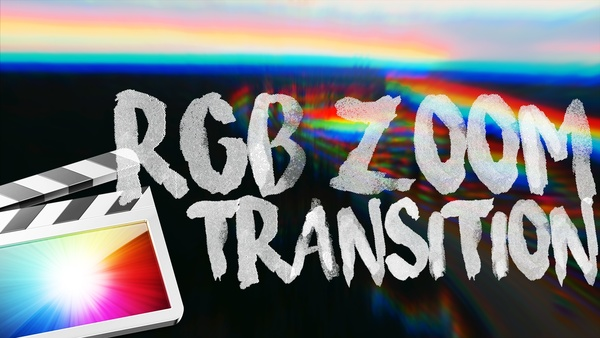 RGB Smooth Zoom Transition for Final Cut Pro X