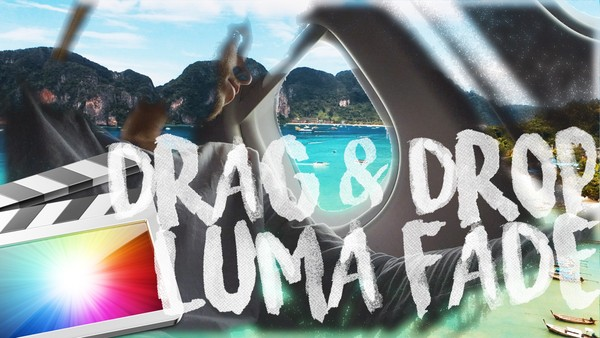 FREE DRAG & DROP LUMA FADE TRANSITION for FCPX