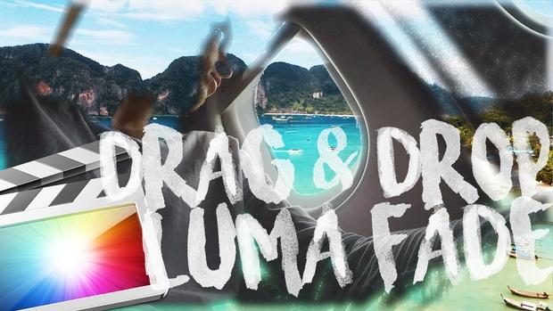 FREE DRAG & DROP LUMA FADE TRANSITION for FCPX
