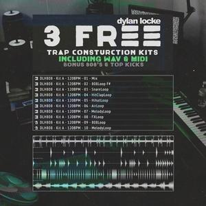 Dylan Locke - Happy 808 - 3 Free Trap Construction Kits
