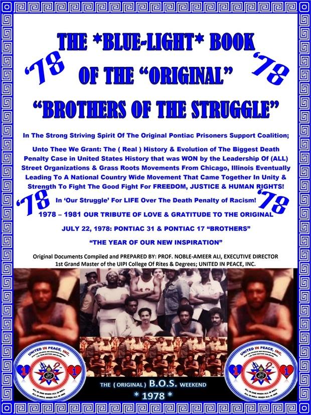2016 blue light book of the original pontiac brothers 2016 blue light book of the original pontiac brothers of the struggle 1978 malvernweather Choice Image