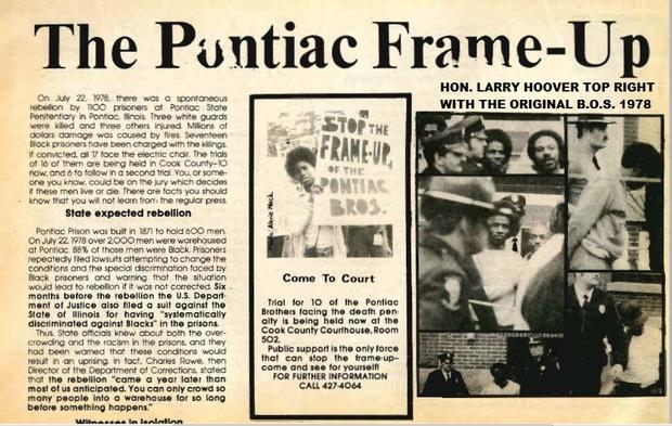2016 BLUE LIGHT BOOK OF THE ORIGINAL PONTIAC BROTHERS OF THE STRUGGLE, 1978