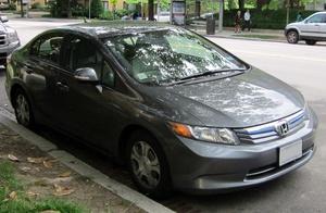 Honda Civic Hybrid & CNG WIS (2012)