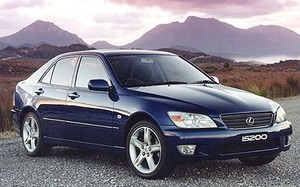 Lexus IS200 (1999-2005) Workshop Manual