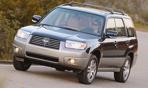 Subaru Forester (2005-2008) Workshop Service Repair Manual