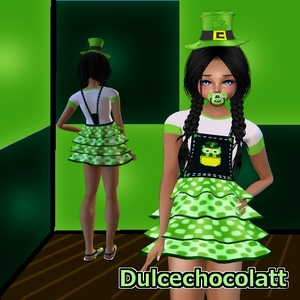 Kid St Patrick Owl -PSD + RESELL RIGHT-