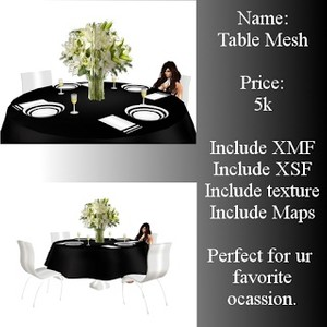 Wedding Table Mesh