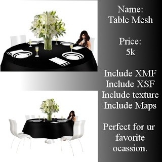 Wedding Table Mesh