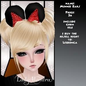 Minnie Ears Mesh