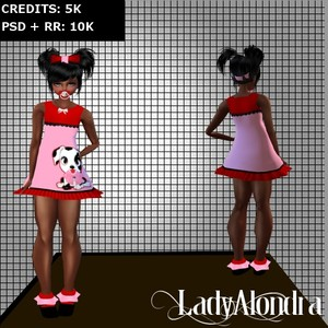 KID DALMATIAN (PSD + RESELL RIGHT)