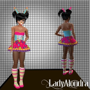 KID BUNNY COSTUME (PSD + RESELL RIGHT)
