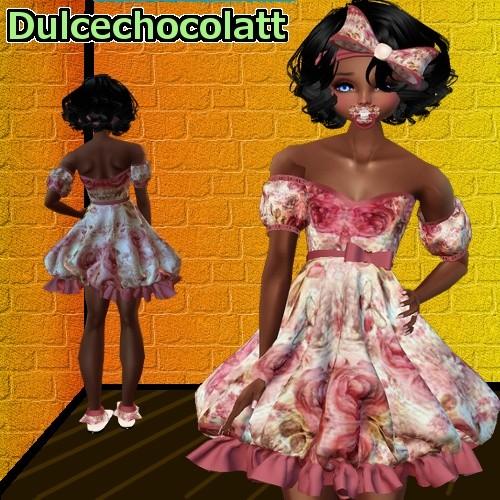 Kid Rose Dress