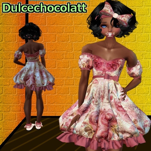Kid Rose Dress -PSD + RESELL RIGHT-