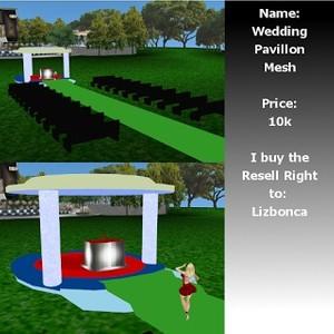 Wedding Pavillon Mesh
