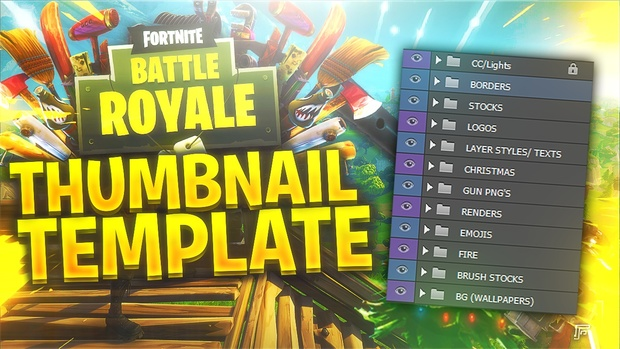 FORTNITE: Battle Royale Thumbnail KIT