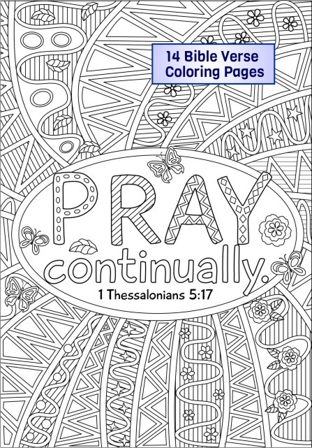 Bundle Of 14 Bible Coloring Pages - RicLDP Artworks