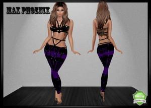 purpleblackpvc