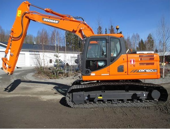 Doosan Daewoo DX160LC Excavator Parts Manual DOWNLOAD