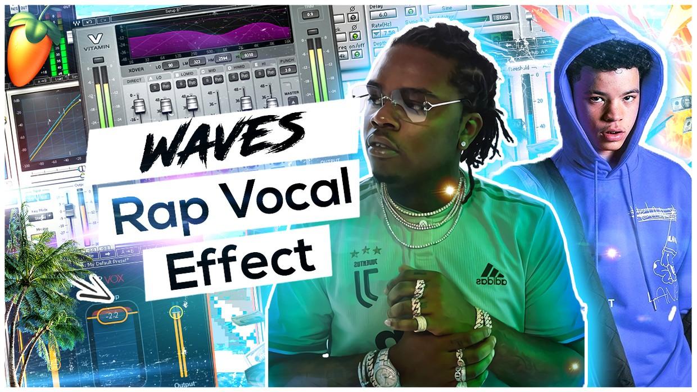Waves StudioRack Rap Vocal Effect (2021 Wave) 🌊🪐