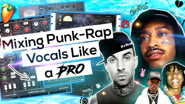 Emo Rap Vocal Effect (PUNK WAVE)