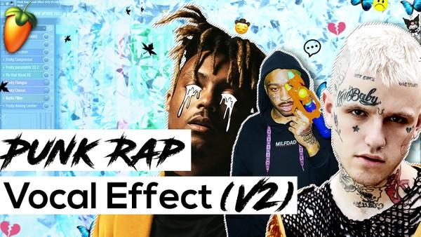 Punk Rap Vocal Effect V2 (Stock Plugins)