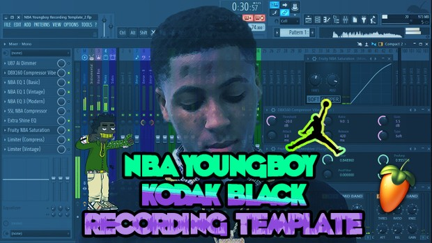 NBA Youngboy Recording Template