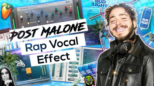 Post Malone Vocal Effect (Rock Wave) 🎸