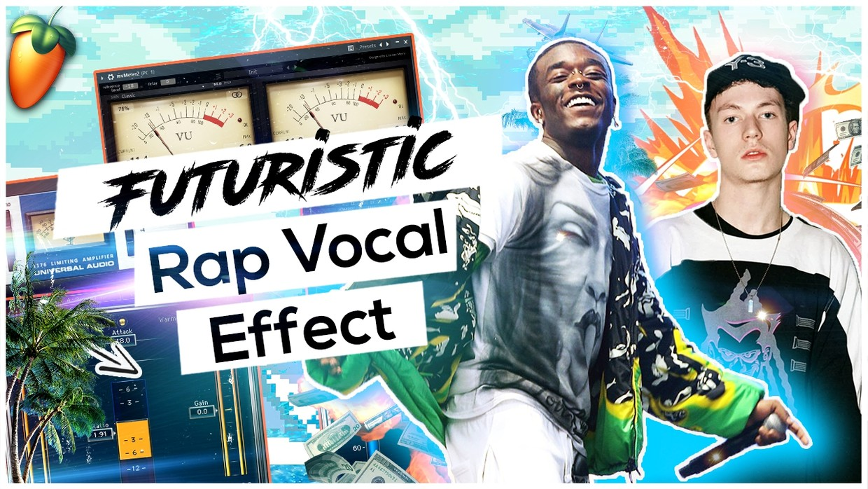 Futuristic Rap Vocal Effect (Ambient Wave)  🚀🚀