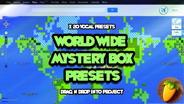 World Wide Mystery Box Presets (x20 Vocal Production Presets)