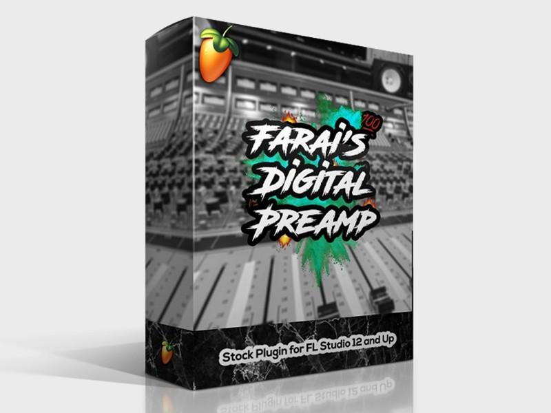 Farai's Digital Preamp 🔥 (Stock FL Studio Plugin)