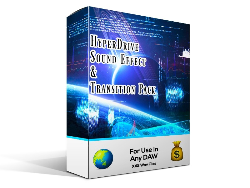 HYPERDRIVE Sound Effect Pack 🪐