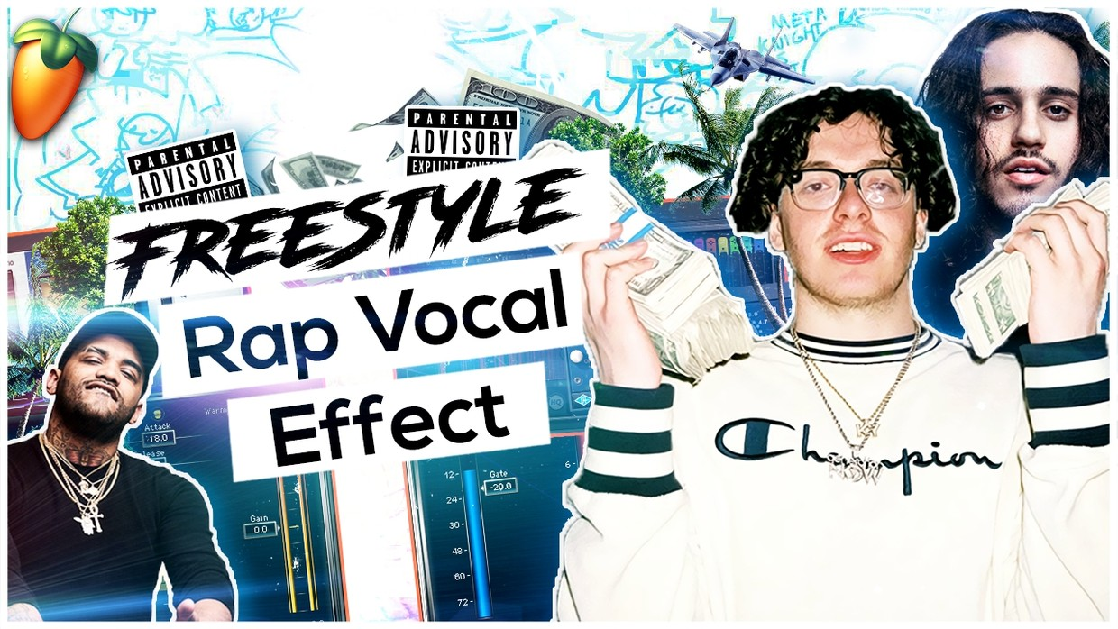 Freestyle Vocal Effect (Straight Bars Wave) ⚡