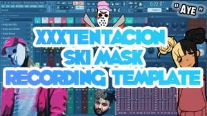 XXXTentacion - Ski Mask Recording Template
