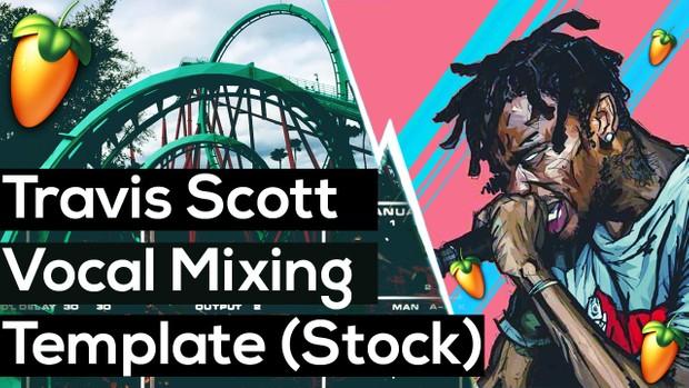 Travis Scott Recording Template (Free VST Version)